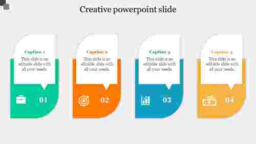 Infographic creative powerpoint slide