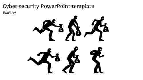 Best cool cyber security powerpoint template