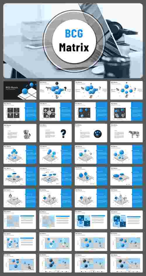 Best bcg matrix powerpoint templates