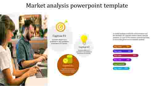 Incredible market analysis powerpoint template