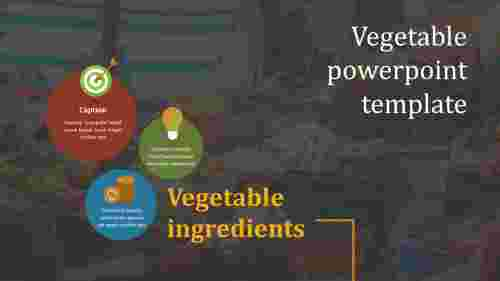 vegetable powerpoint template