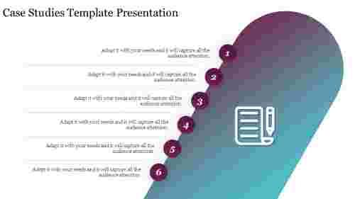 Best case studies template presentation