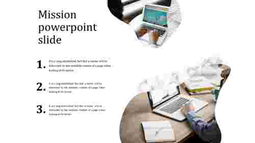 mission powerpoint slide
