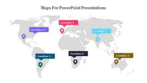 Best maps for PowerPoint presentations free