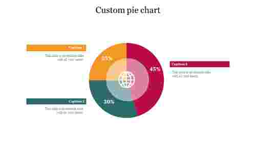 Custom%20pie%20chart%20PowerPoint%20presentation