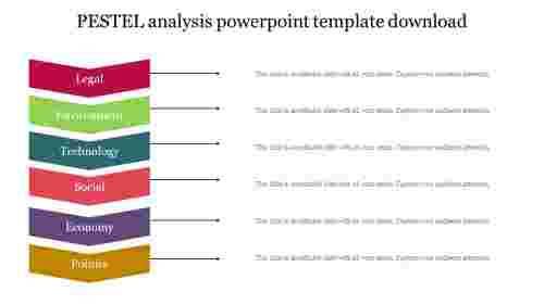 PESTEL analysis powerpoint template download