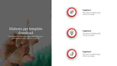 Diabetes ppt template download