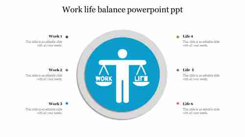 Work life balance powerpoint ppt