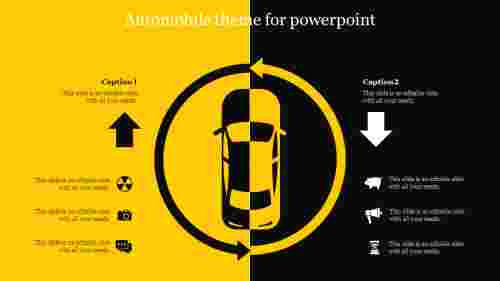 Automobile theme for powerpoint
