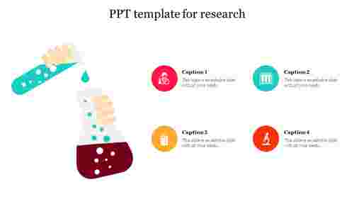 PPT template for research