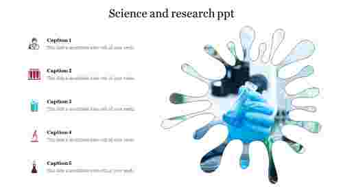 Science and research ppt