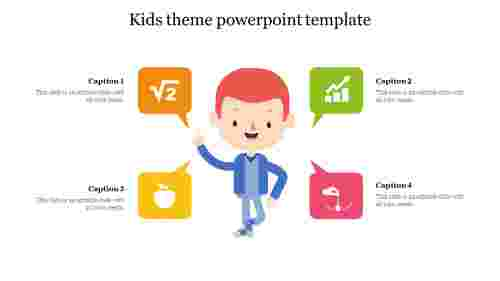 Kids theme powerpoint template free