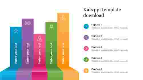 Kids ppt template download