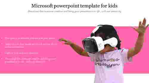 Microsoft powerpoint template for kids