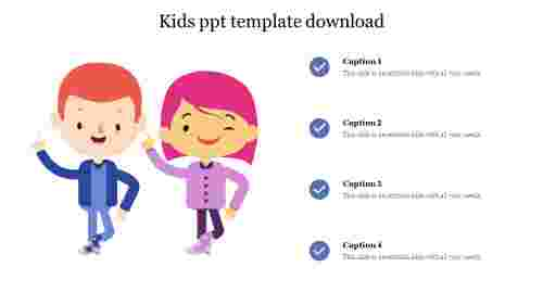 Kids ppt template free download