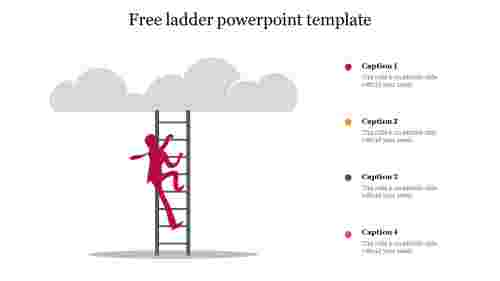 Free ladder powerpoint template