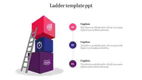 Ladder template ppt