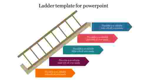 Ladder template for powerpoint
