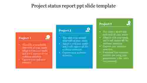 Nice%20Project%20status%20report%20ppt%20slide%20template%20