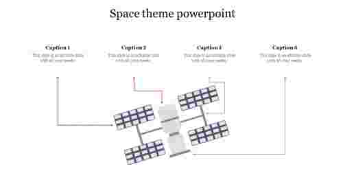 Innovative%20Space%20theme%20powerpoint%20with%20satellite%20