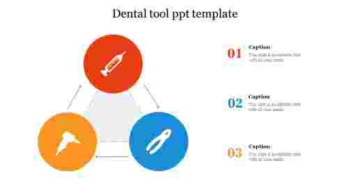 Dental tool ppt template free