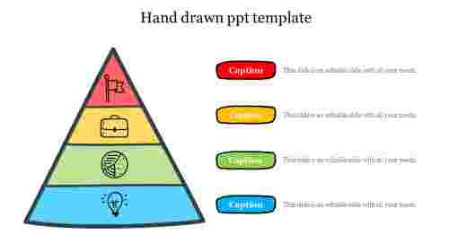 Hand drawn ppt template