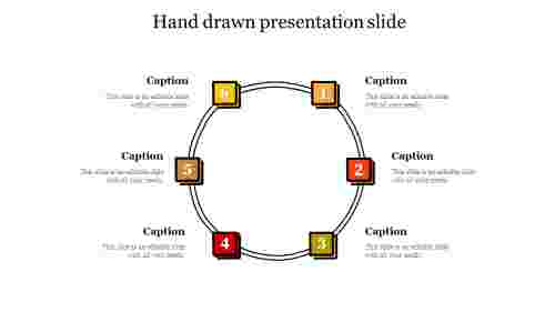 Hand drawn presentation slide