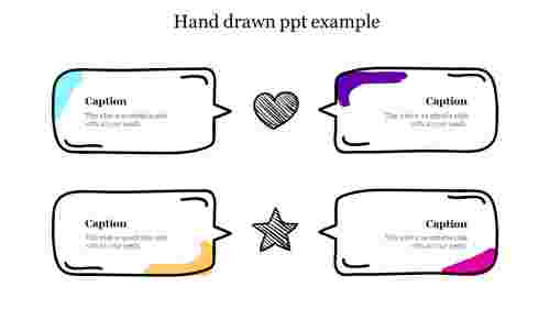 Hand drawn ppt example free