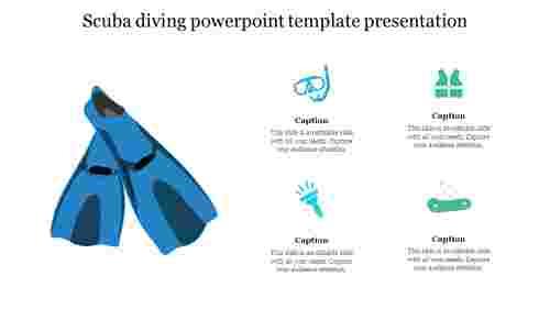 Creative%20Scuba%20diving%20powerpoint%20template%20presentation