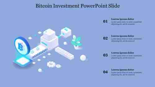 Four%20Node%20Bitcoin%20Investment%20PowerPoint%20Slide