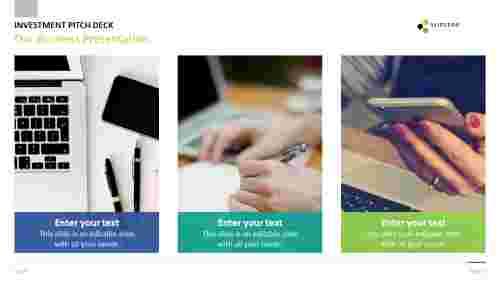 best business powerpoint templates - Portfolio design