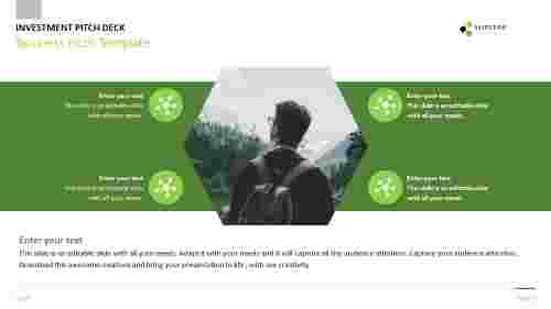Best business pitch template design