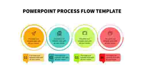Best powerpoint process flow template slide