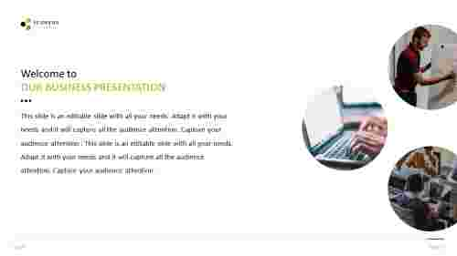 About us Presentation Template