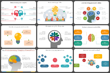 Brain storming Powerpoint Templates