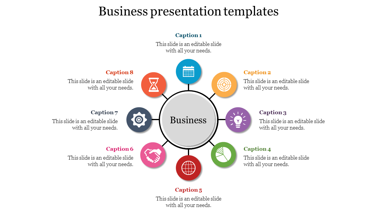Process Of Business Presentation Templates