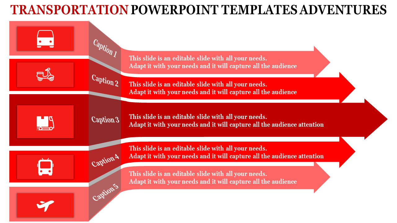 transportation powerpoint templates