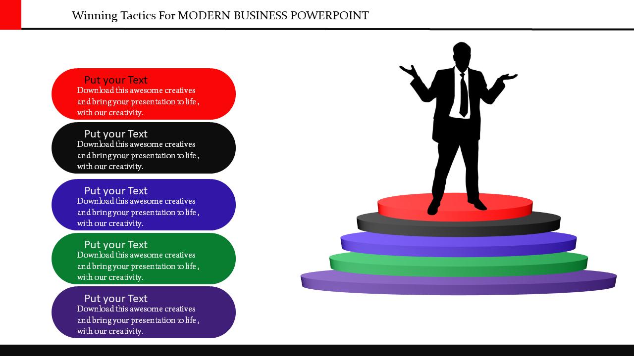 Free - Modern Business Powerpoint Templates
