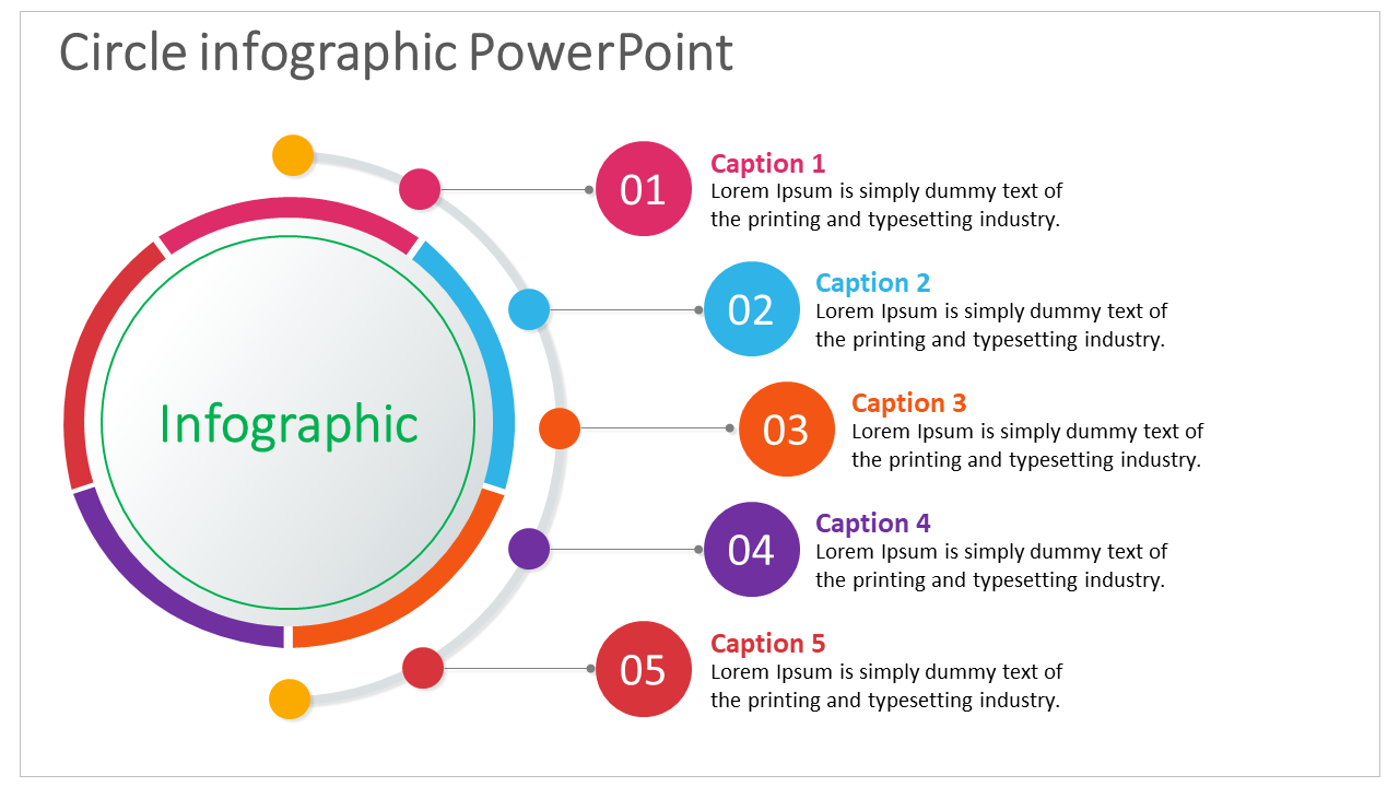 Circle Infographic Powerpoint Design