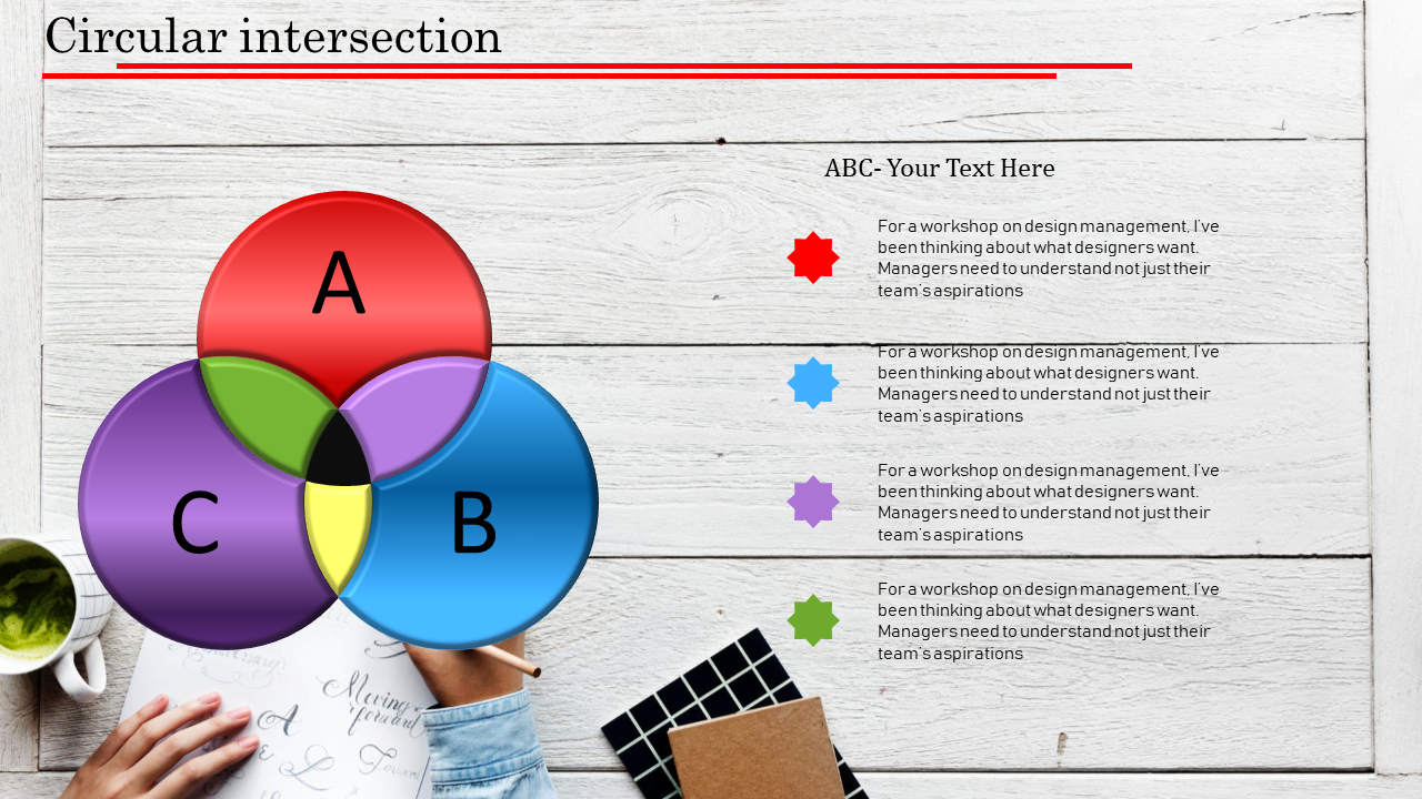 Circle Infographic PowerPoint Template Presentation