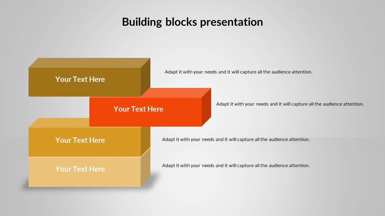 Building Blocks PowerPoint Template