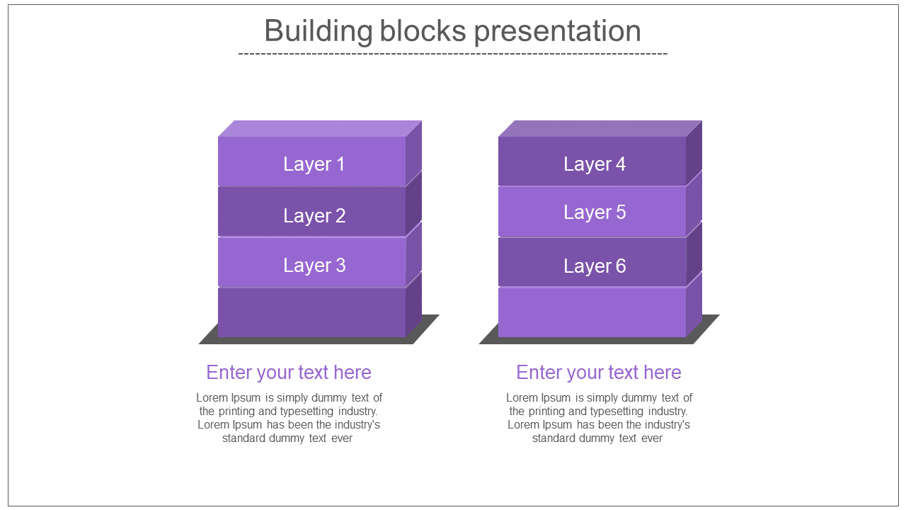 Building Blocks Presentation Stack Model