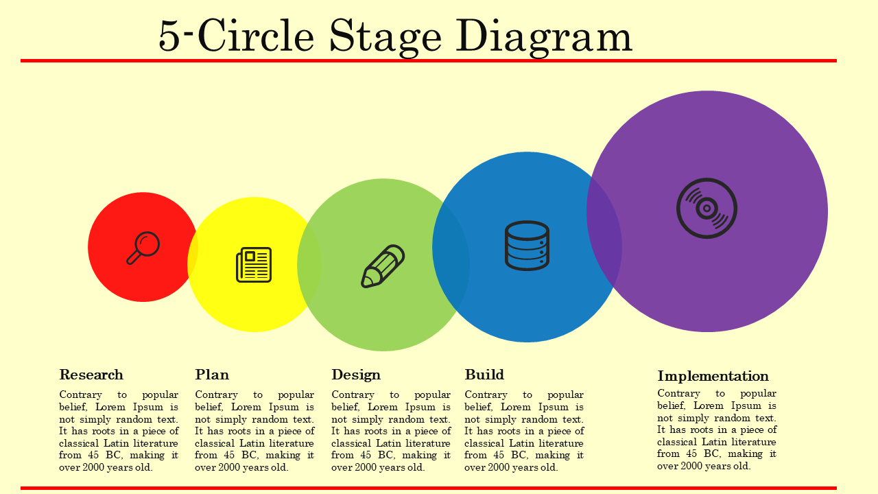 Free-Diagram Circle Powerpoint Template