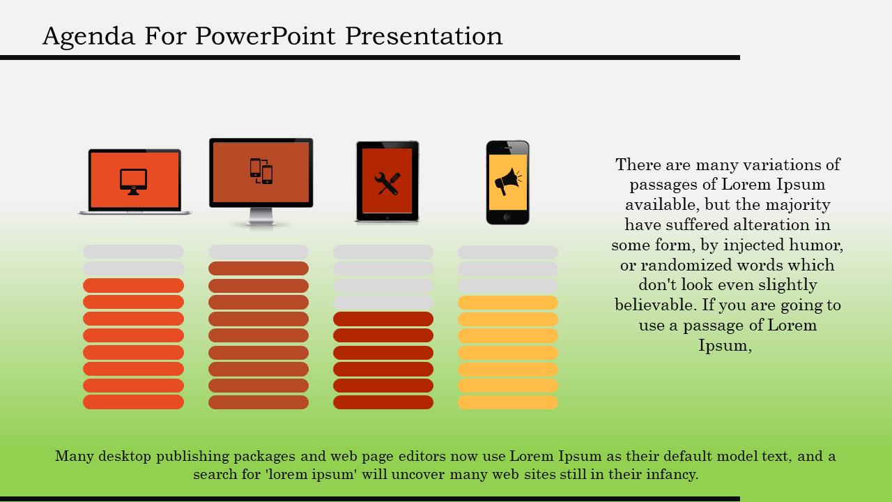 Technology Powerpoint Agenda Template