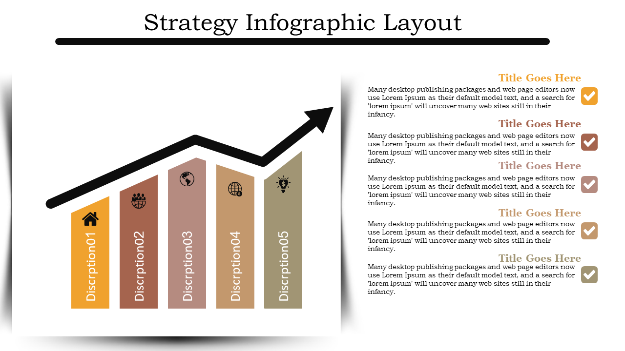 Sales Strategy Presentation With Layout