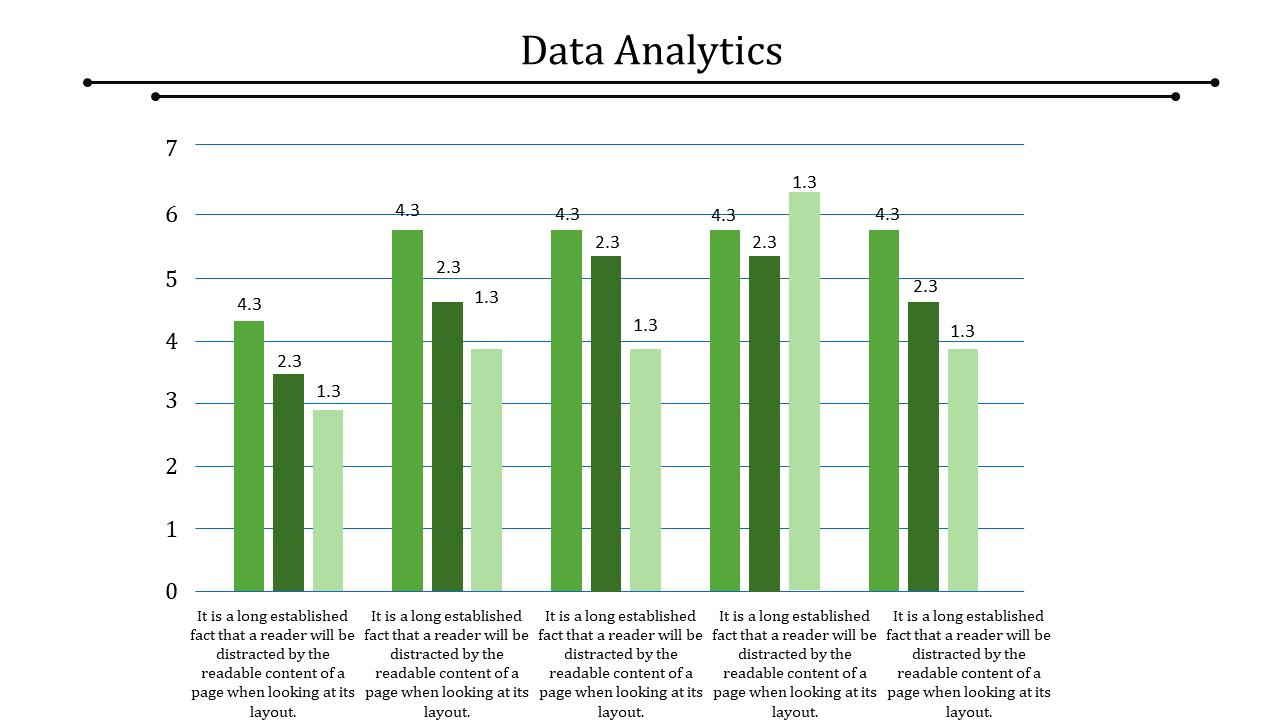 Bar Model Data Analytics Powerpoint Template