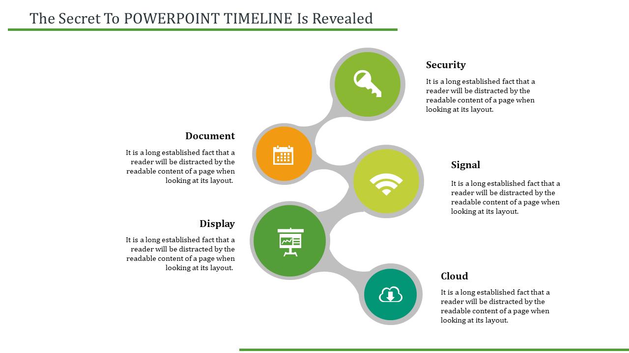 Free - Powerpoint Timeline Slide Model