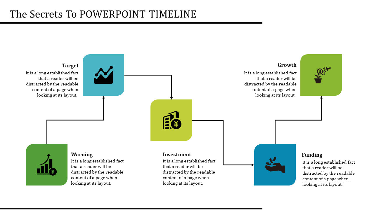Organized Keynote Timeline Template