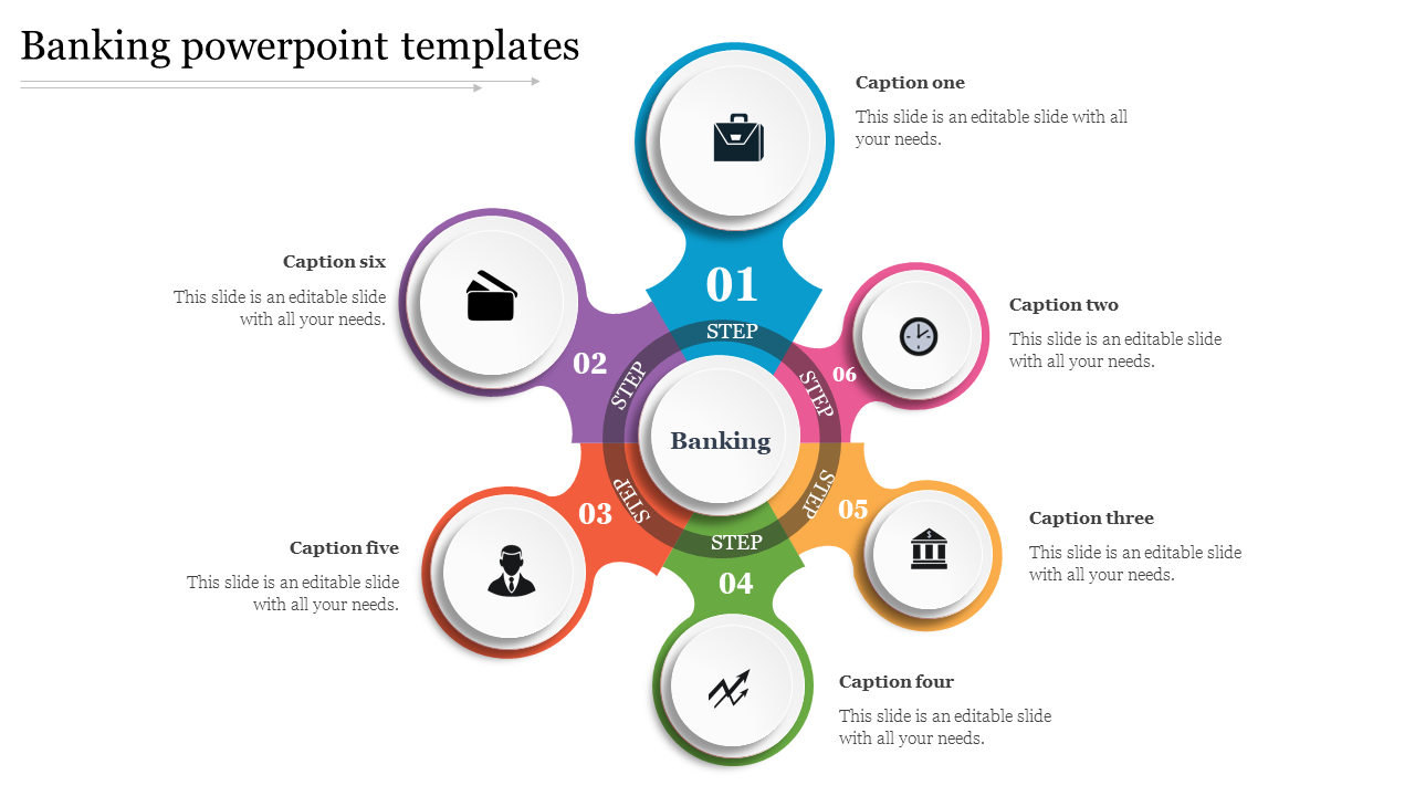 Banking PowerPoint Templates Interest Plan