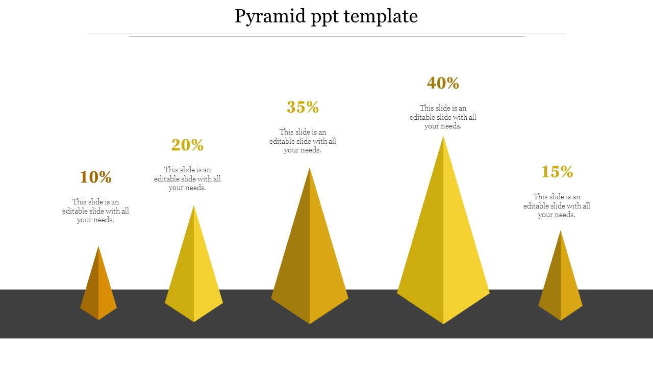 Free - Best Pyramid PPT Template